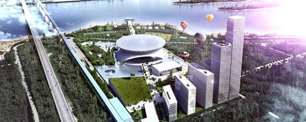 На новую ледовую арену в Новосибирске потребуется 2,5 миллиарда рублей