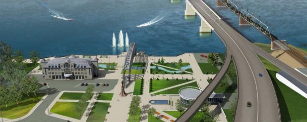 Еще 160 миллионов рублей нашли новосибирские власти на проект четвертого моста через Обь