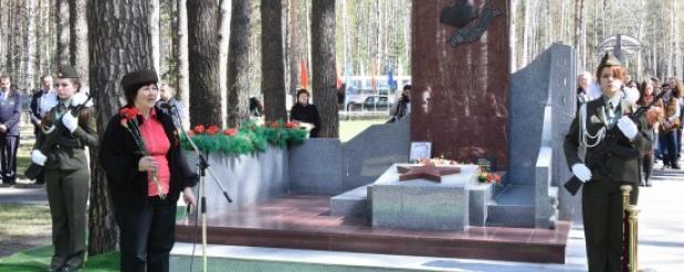 Памятник герою сражения на Безымянной высоте установили в Новосибирске