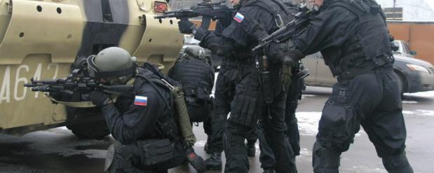 В Новосибирске прошли учения ФСБ