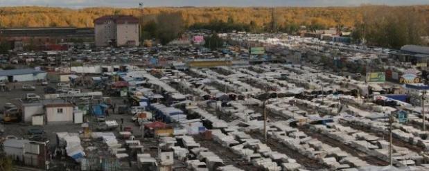 Власти Новосибирска разрешили некоторым продавцам оставить свой товар на Гусинобродской барахолке до 31 октября