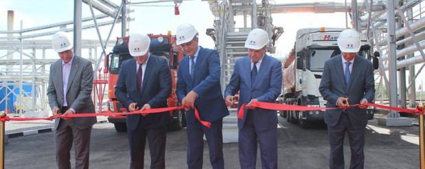Новое производство битума запущено в Новосибирской области