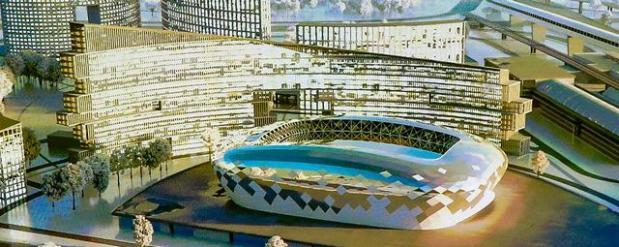 В Новосибирске одобрили проект ледовой арены