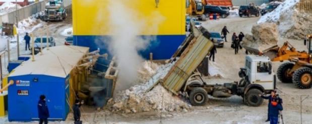 Из-за жалоб новосибирцев суд остановил работу снегоплавильной станции