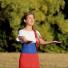 Более 2 млн просмотров набрал клип певицы из Новосибирска про Путина