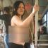 В утренний час-пик в новосибирском транспорте ездила полуобнаженная женщина